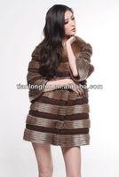 muskrat fur coat