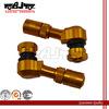 BJ-TYERV-001 Hot Sale aluminum gold dirt bike racing parts tire valve for motorcycle