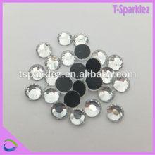 rhinestone wholesaler wholesale flatback DMC hot fix crystal stone