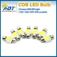 """Best selling auto COB led, festoon led bulbs 12V 1.22"""" 31mm auto led interior lights reading lights"""