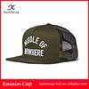 Wholesale Promotional High Quality Popular New Design Custom Print Mesh Snapback Trucker Cap/Hat In Sports Cap