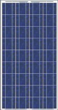 130W Poly solar pv panel with water proof junction box