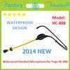 Headset Waterproof Microphone for Yoga HC-888