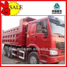 Copa del mundo de mejor camión 290 camiones SINOTRUK HOWO volcado made in China
