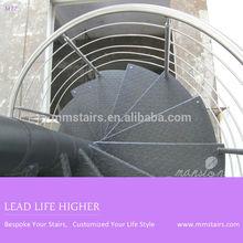 Outdoor Metal Spiral Steel Stairs