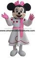 adultos venda topo minnie mouse mascote fantasia