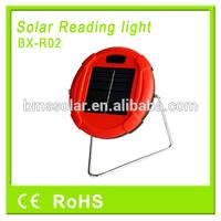 2014 new designed led solar reading light