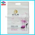 personalizado de alta qualidade de filme de pebd cortou sacosdeplástico para compras com impressão alibaba china pacote do saco