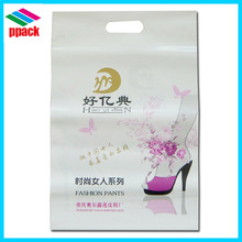 Customized high quality LDPE film Die cut plastic bags for shopping with printing Alibaba China package bag