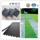 Non-slip HDPE ground protection plastic floor mat