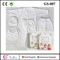 القطن الخالص الطفل هدية مجموعة 5 قطع المولود الجديد هدية مجموعة