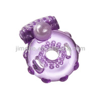 Adult sex products with Pearl Vibrating Sex Ring