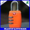Professional Supplier For High Quality TSA lock Bag Lock/TSA Locks 3-Dial Combination TSA Lock