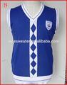 Camisola padrões colete uniforme da escola primária projeto
