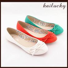 2014 New Style Wholesale Flat Big Size Women Shoes Wholesale