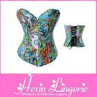 2014 steel boned mature women sexy leather corset