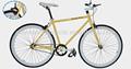 700C fashional single speed moto artes fixas / factory direct preço bicicleta, Colorido da bicicleta SW-700C-A118