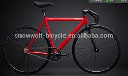 700C CR-MO steel frame single speed colorful track road bike/High quality fixed gear bike SW-700C-A94