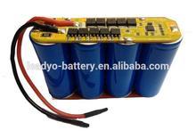 26650 LiFePO4 Battery pack, 12V 3300mAh power tool battery pack