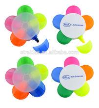 Plastic flower pen / star highlight pen for promotion MDS-P6163