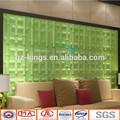 bambu parede decoração com fireproof impermeável paintable características