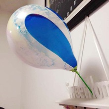 festival celebration cup stick rainbow balloon