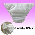 Descartáveis hospitalares Medical Ladies calcinha de papel para as mulheres