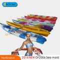 tándem de color de kayak de pesca / canoa, tándem de kayak