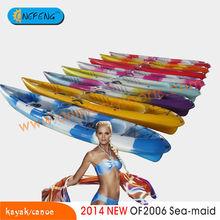 Colourful Tandem Fishing kayak/canoe,Tandem kayak