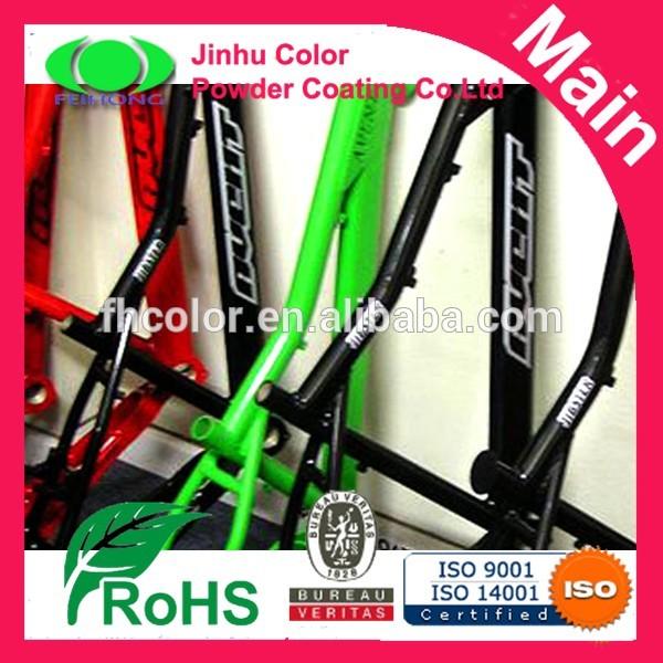 โพลีเอสเตอร์สีผงสีในการวาดจักรยาน