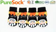 New 2014 China Pet Sock Factory Custom Colorful colorful dog socks Sock Pet Pattern