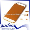 China alibaba wholesale metal back cover for iphone apple 5s