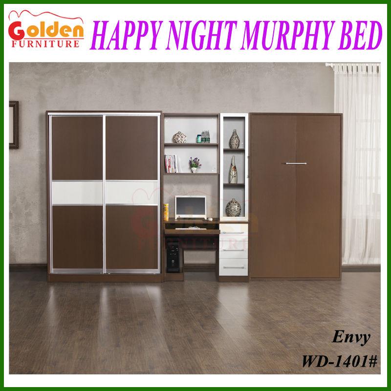 Muebles de oro oculta cama de la pared de Murphy cama a la venta China