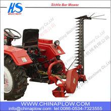 Tractor de alfalfa cortadora