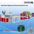 A fibra do pvc reforçado máquina tubulação macia/máquina extrusora
