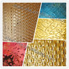 Luxurious decorated stainless steel embossed KTV indoor wall covering sheet