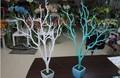 kaliteli yapay beyaz kuru ağaç dalı mercan düğün dekorasyon
