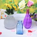 2014 Exquisite / decorativa / colorido vaso de vidro com seu próprio projeto vaso venda