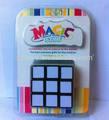 El 2014 mejor y de alta calidad abs maggi 3*3*3 de plástico cubo mágico rompecabezas de cubo y envío de la gota