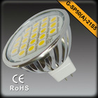 High Quality 300lm 4W LED Spot light Aluminum 5050SMD GU5.3/MR16 LED Spotlight 3 years warranty