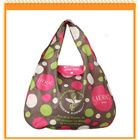 Fashion Polyester Foldable Shopping Bag