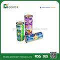 opp rolo de filme plástico de chips de batata embalagem rolo de filme plástico alimentar rolo de filme