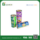 opp plastic film roll Potato Chips Packaging Roll Film plastic food film roll