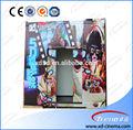 guangzhou 9d profesional proveedor de teatro móvil de camiones 9d cine utiliza la cabina del camión
