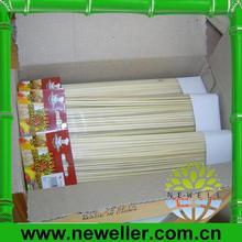2014 de la alta calidad decorativa palos de bambú con el mejor precio
