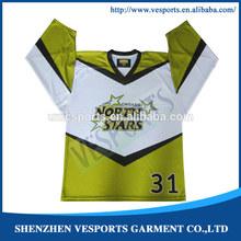2014 custom sublimation ice hockey apparel