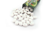 Fruit Candy Tablet Mints in Eclipse shape tin