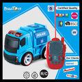 nueva juguete de plástico con la pantalla del pdq rc coches de la policía