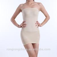 S/M/L/XL/XXL/XXXL Women loose weight corset sexy tights tube dress ladies slim shape underwear