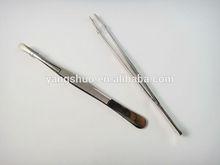 YS1022 Yongsun 2014 Beauty long tweezers in stainless steel top quality